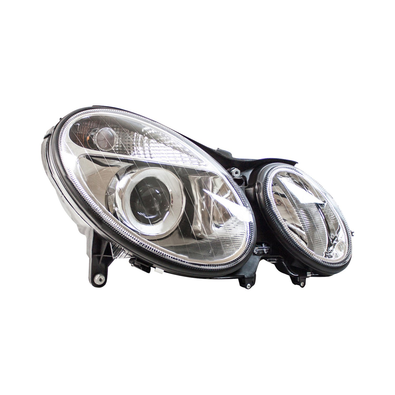 Tyc mercedes e320 e500 e55 amg sedan with factory for Mercedes benz aftermarket headlights