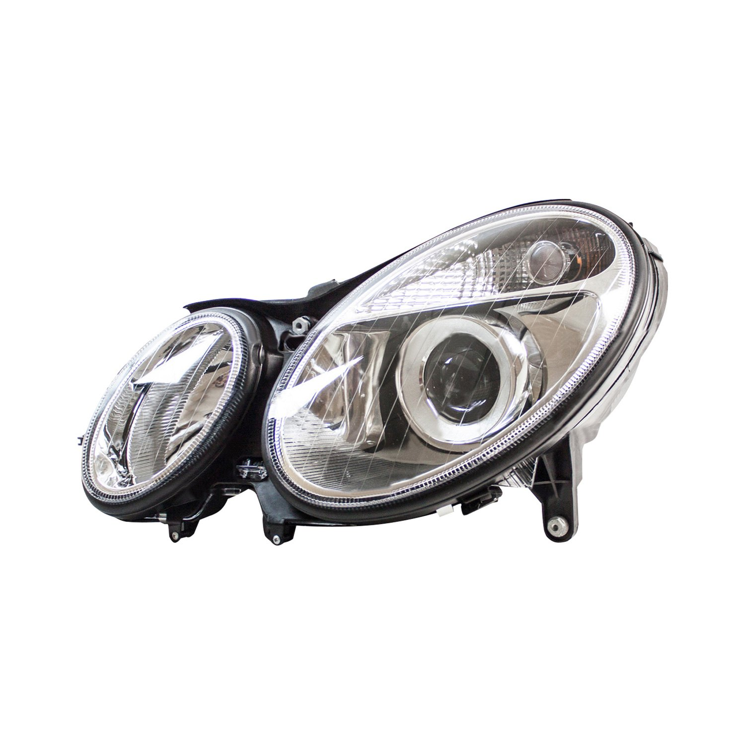 Tyc mercedes e320 e500 e55 amg sedan with factory for Mercedes benz headlight replacement