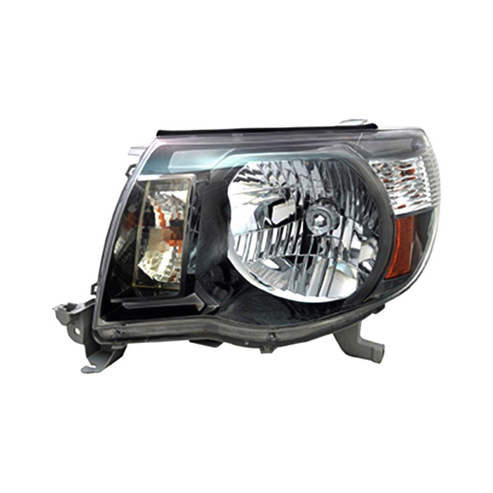 Toyota Tacoma Headlights: Toyota Tacoma 2007-2009 Replacement Headlight