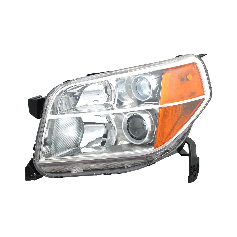 tyc honda pilot   replacement headlight
