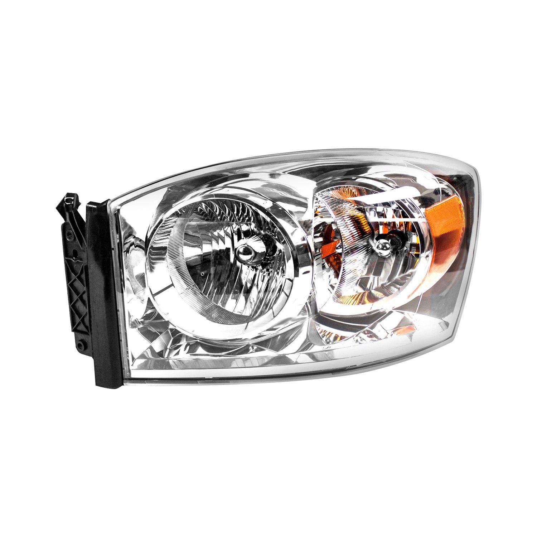 Dodge Replacement Headlights: Dodge Ram 1500 / 2500 / 3500 / 4000 2008