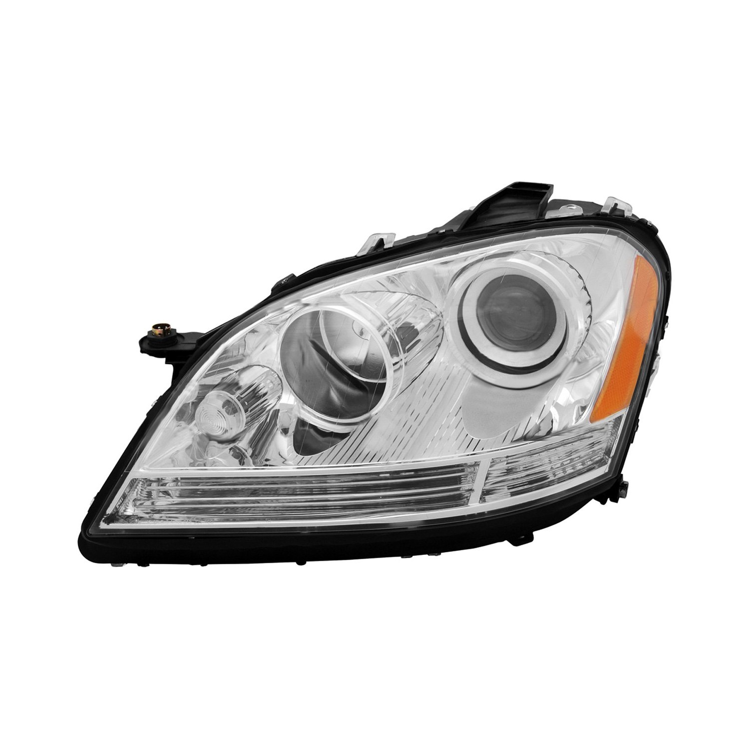 Tyc mercedes ml320 ml350 ml500 ml63 amg sport for Mercedes benz headlight replacement