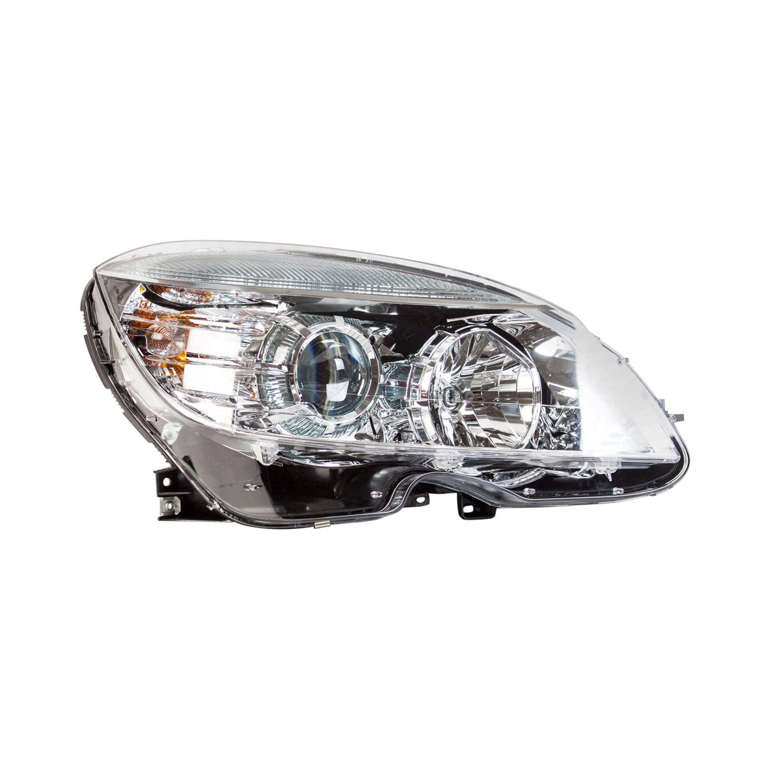 Service manual headlight removal 2009 mercedes benz c for Mercedes benz c300 headlights
