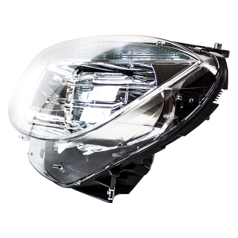 Tyc mercedes c200 c250 c300 c350 c63 amg with for Mercedes benz c300 headlights