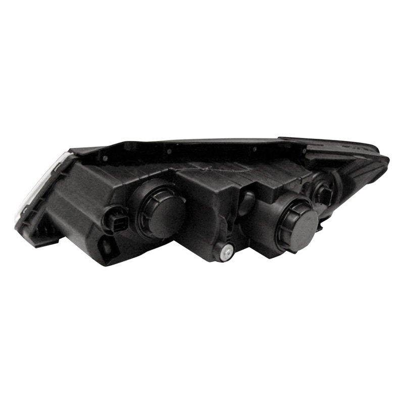 Passenger side WITH install kit 6 inch 2015 Peterbilt CONVENTIONAL-POST Post mount spotlight -Chrome 100W Halogen
