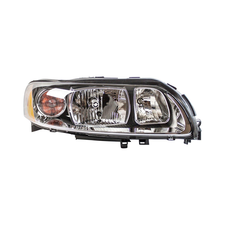TYC® - Volvo S60 with Factory Halogen Headlights 2005-2009 Replacement Headlight