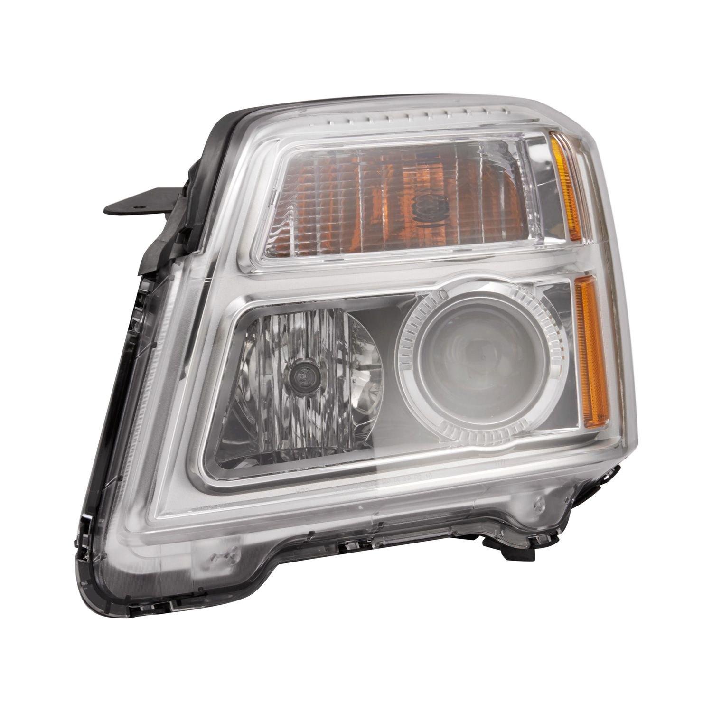 tyc gmc terrain 2014 replacement headlight. Black Bedroom Furniture Sets. Home Design Ideas