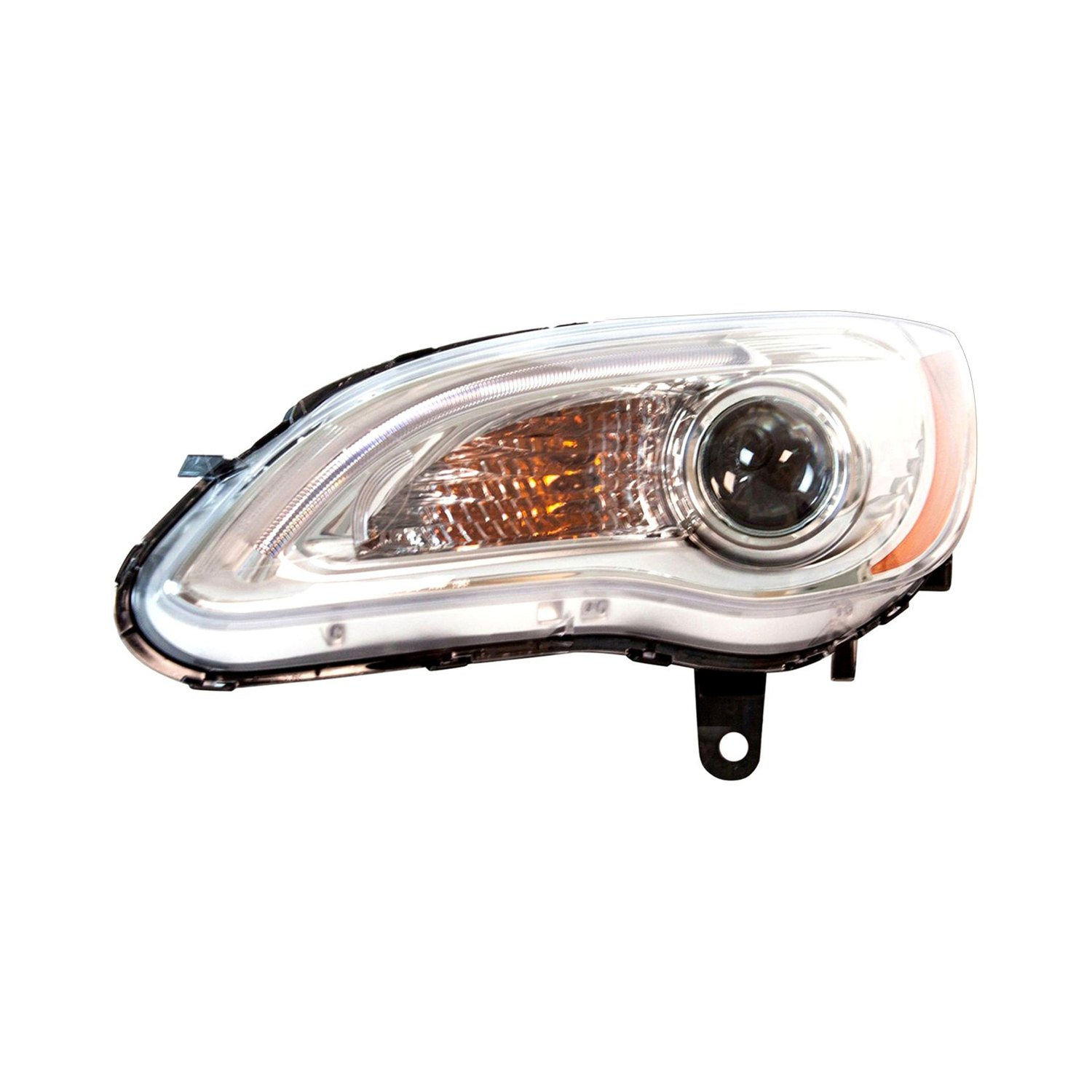 how to change headlight on a chrysler 200