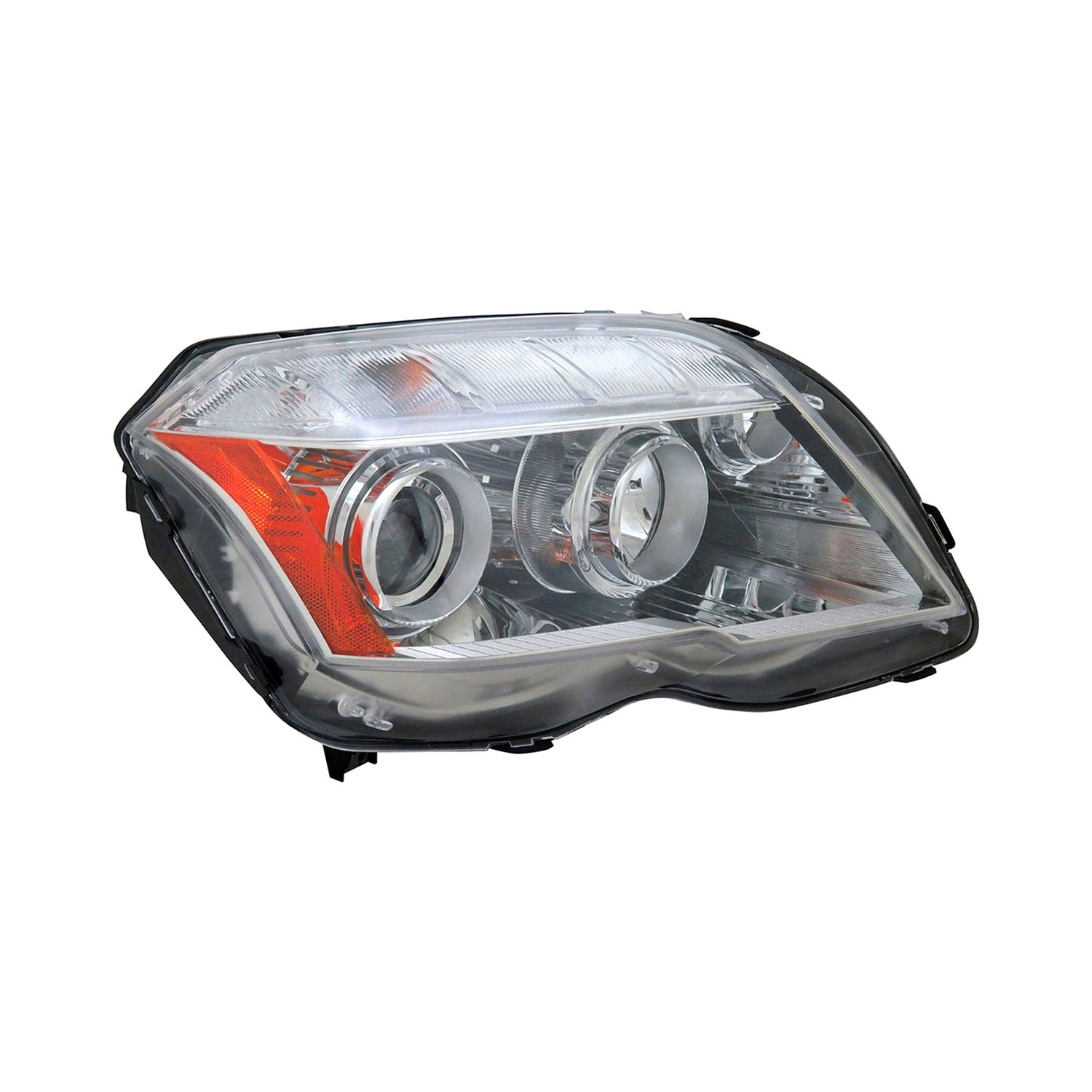 Tyc mercedes glk300 glk350 with factory halogen for Mercedes benz headlight replacement