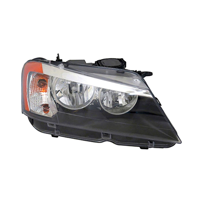 bmw e36 headlight wiring diagram tyc® - bmw x3 2011-2014 replacement headlight