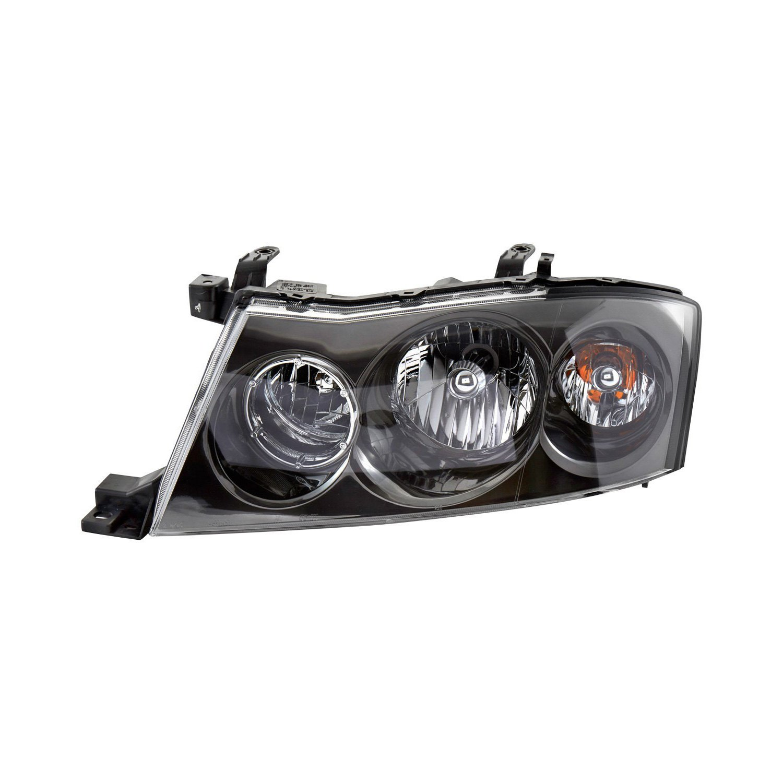 Tyc infiniti m45 with factory hidxenon headlights 2003 2004 tyc driver side replacement headlight vanachro Images