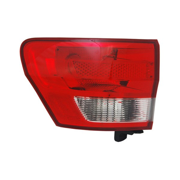 tyc jeep grand cherokee 2011 2013 outer replacement tail light. Black Bedroom Furniture Sets. Home Design Ideas