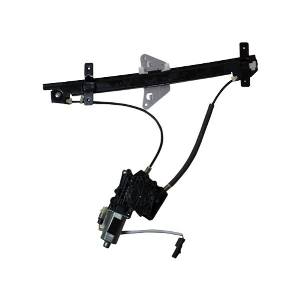 Tyc 660178 front driver side power window regulator and for 2001 dodge durango window off track