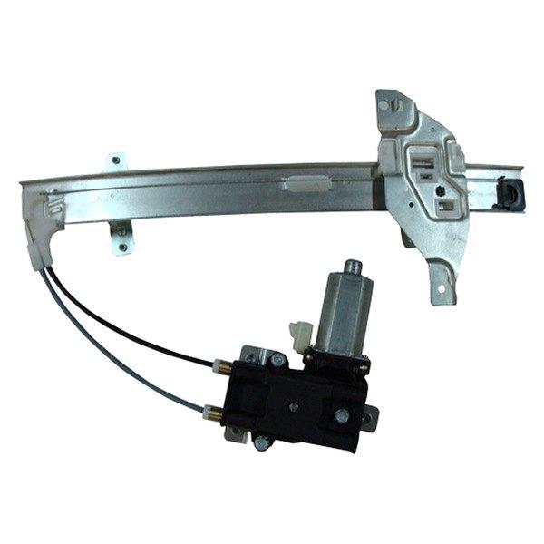 Tyc 660212 rear driver side power window motor and for 2000 pontiac grand prix window regulator