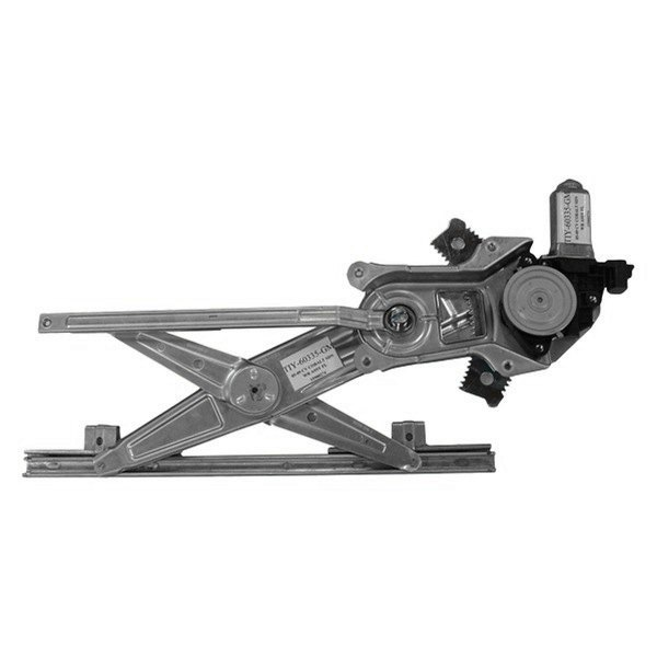 Tyc 660274 front driver side power window regulator and for Window regulator motor assembly