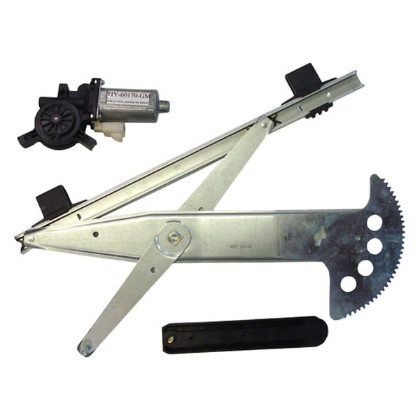 Front Driver Side Power Window Motor And
