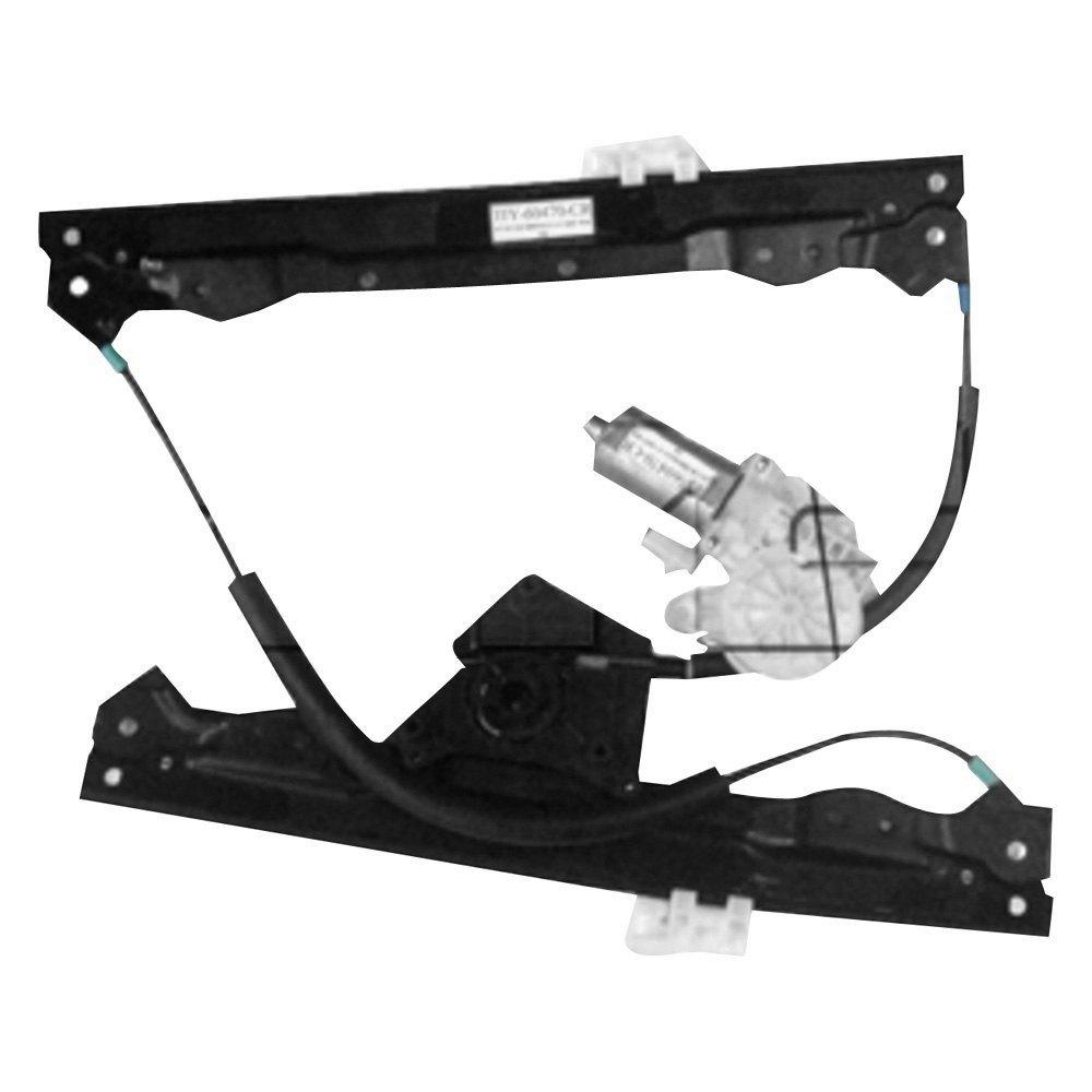 Tyc 660481 front passenger side power window motor and for Passenger side window motor