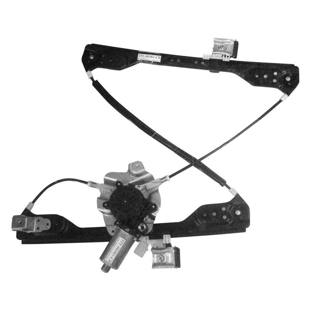 Tyc dodge charger 2006 front power window regulator and for Window regulator and motor assembly