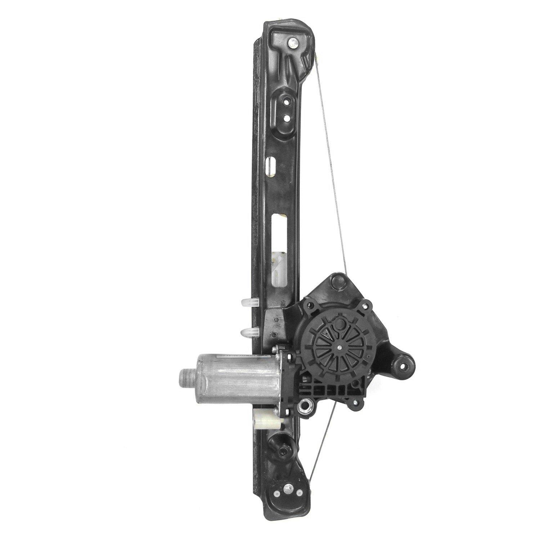 Tyc 660542 rear driver side power window regulator and for Power window regulator motor
