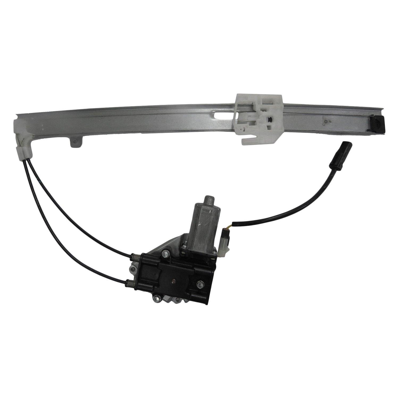 Tyc 660550 Rear Driver Side Power Window Motor And