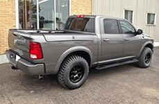 ULTRA® - BOLT 198B Satin Black on Dodge Ram