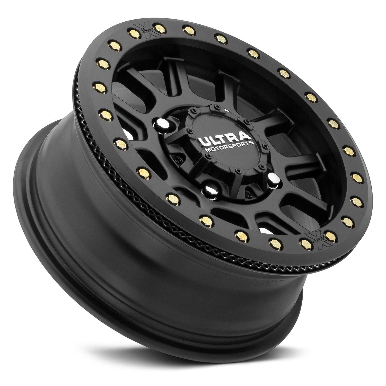 Ultra 117sb Utv Offroad Wheels 15 X6 Satin Black With Ring 32