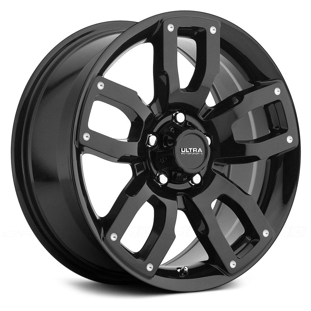 Ultra 174 251 Decoy Wheels Gloss Black Rims