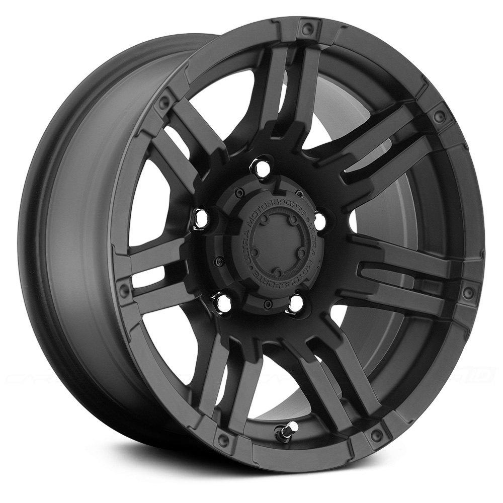 Ultra 174 Gauntlet 237b Wheels Matte Black Rims