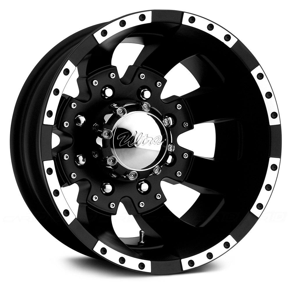 Ultra 174 Goliath 023b Dually Wheels Matte Black With