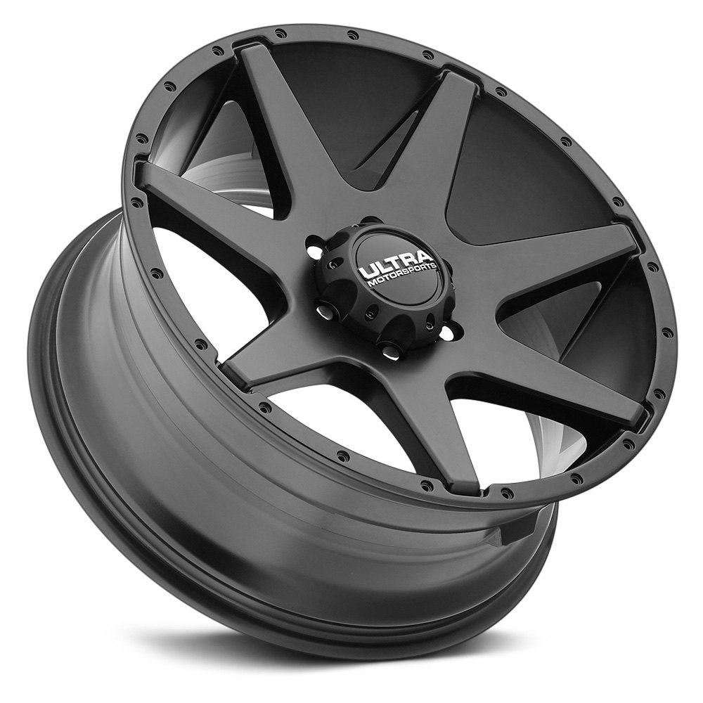ultra 205 tempest wheels satin black rims. Black Bedroom Furniture Sets. Home Design Ideas