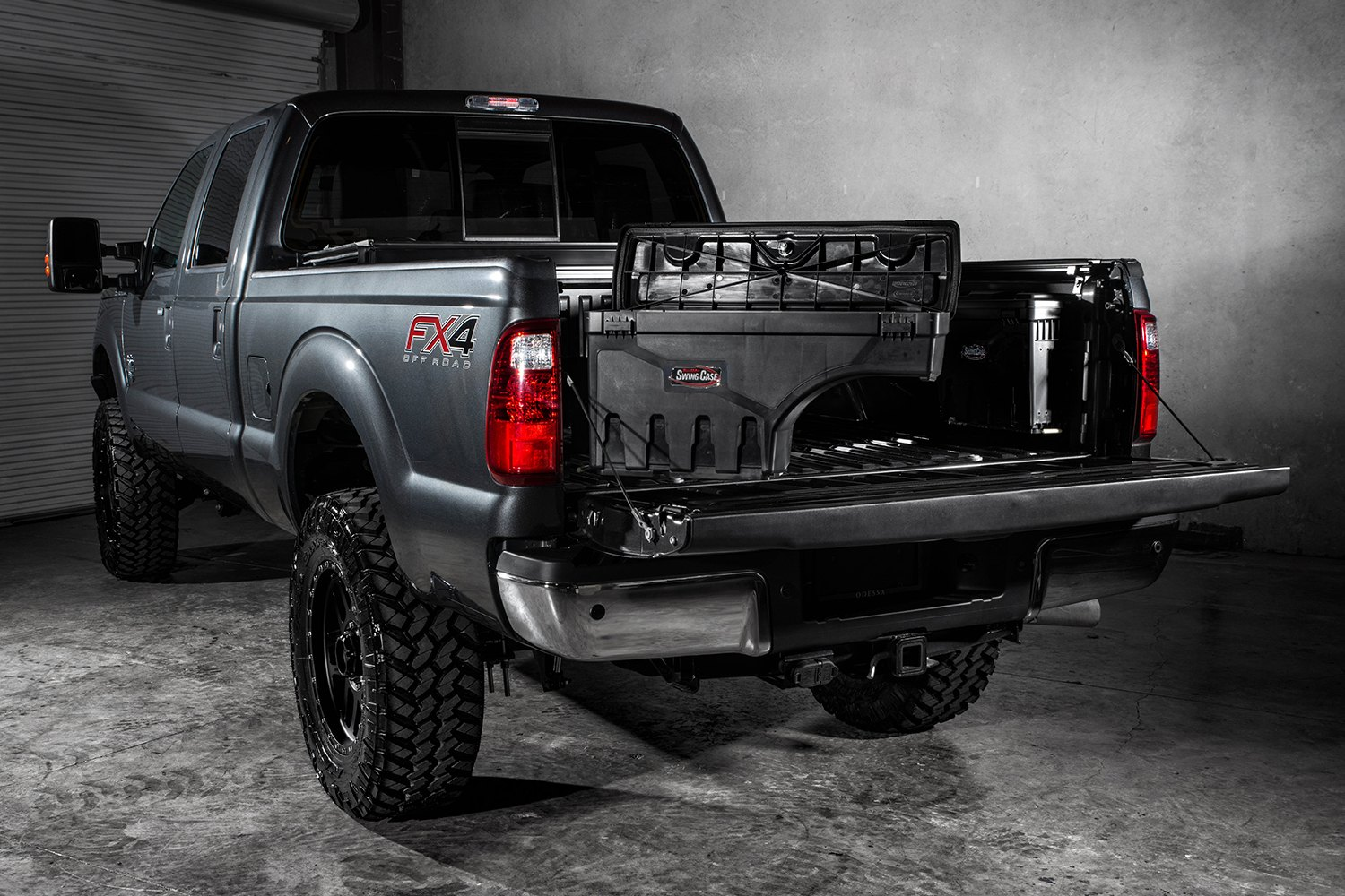 Swing Case on Ford F 250 Bed Dimensions