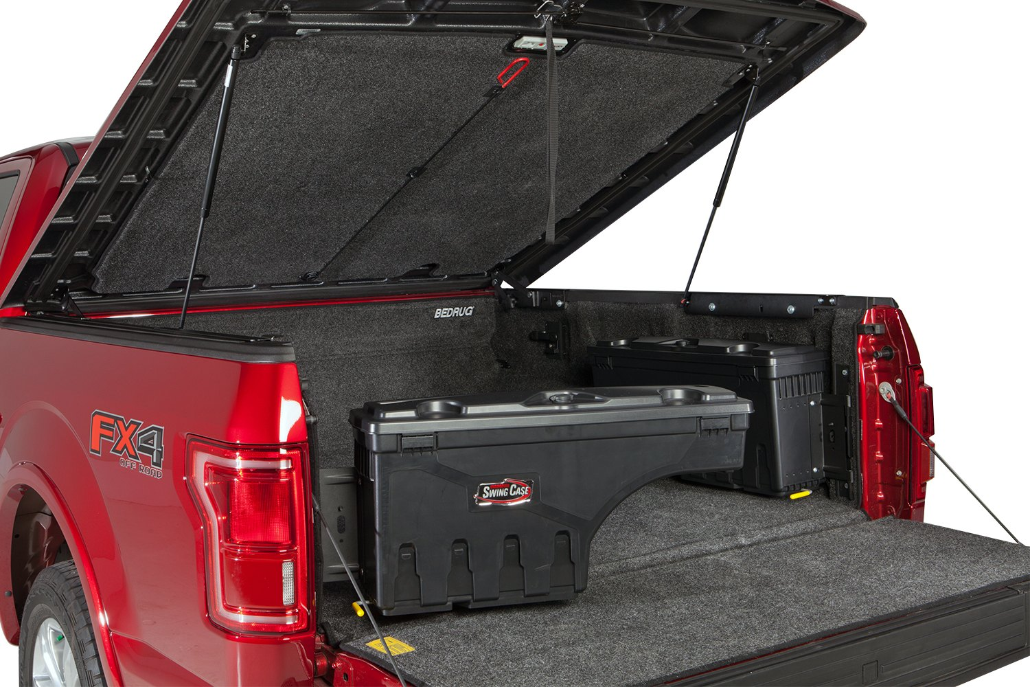 Undercover 174 Toyota Tacoma 2005 Single Lid Swing Case