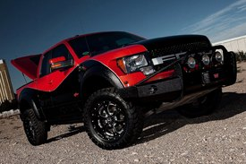 UnderCover® - SE Smooth™ Tonneau Cover on Ford Raptor
