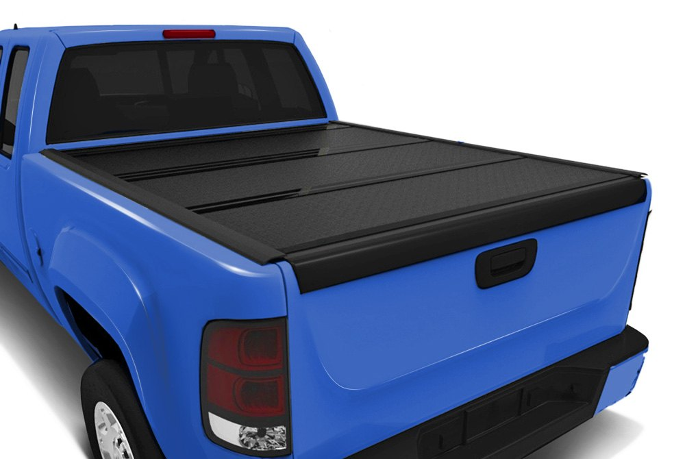 f black elite undercover bed tonneau cover tri fold textured