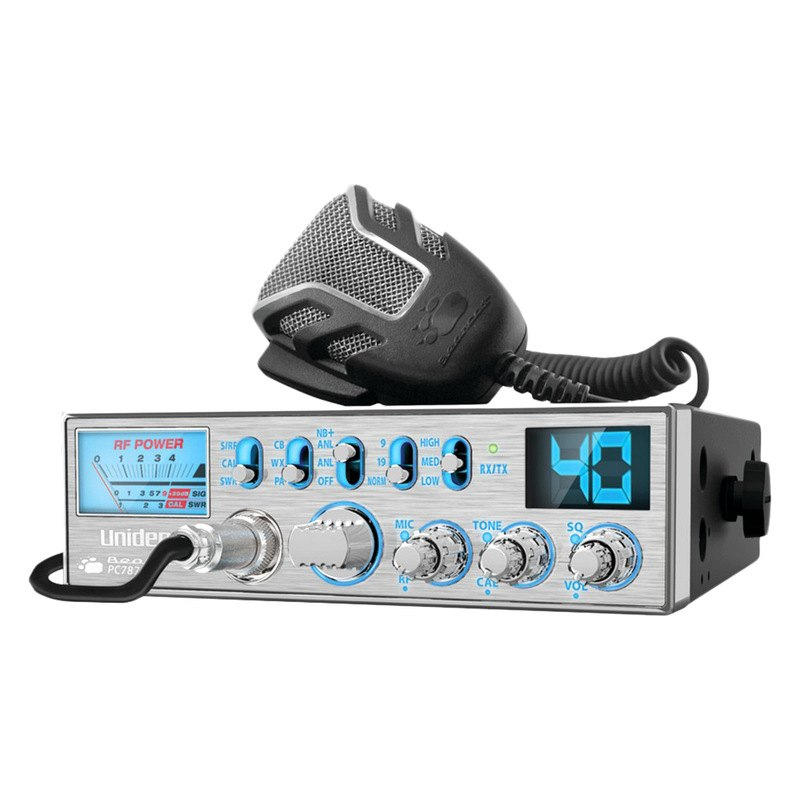 Uniden Pc78ltx 40 Channel Cb Radio With Swr Meter Walmart