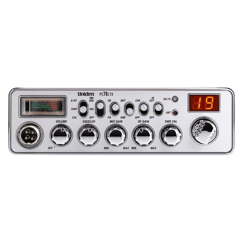 Uniden® - PC78LTX 40 Channel Handheld CB Radio with Microphone