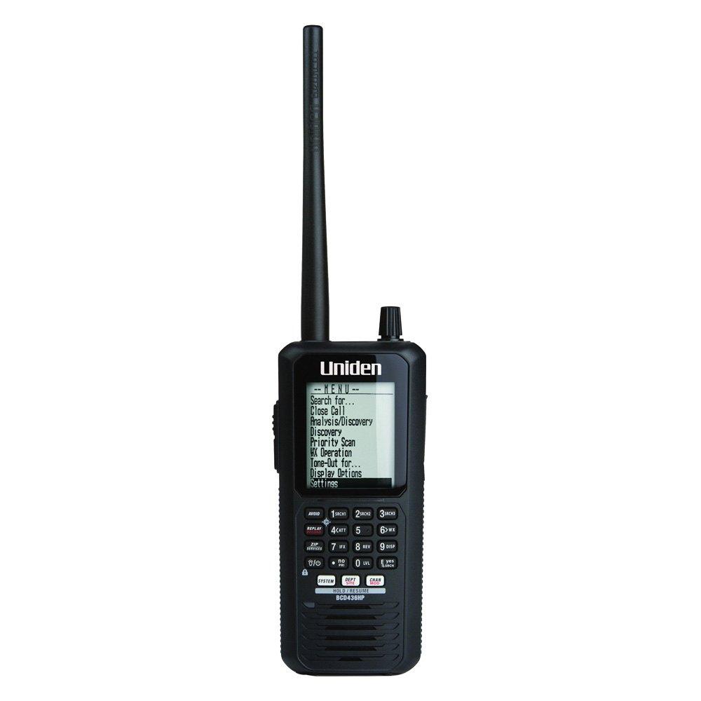 Uniden® BCD436HP - HomePatrol Series Digital Handheld Scanner