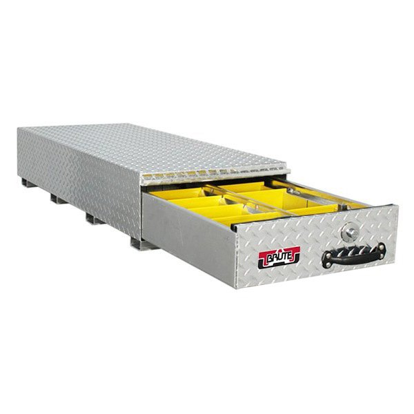 Unique truck accessories hbs306 brute hd bedsafe roller drawer unit - Truck bed boxes drawer ...