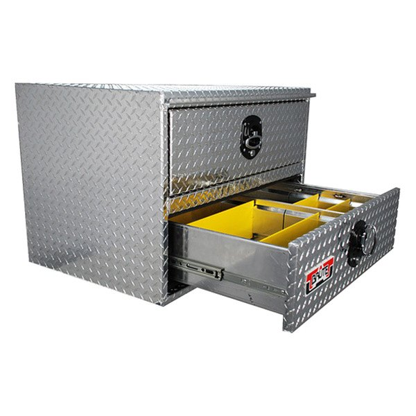 Unique Truck Accessories® HDD24 - Brute™ HD Two Drawers ...