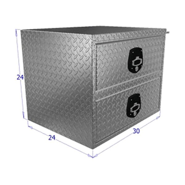 Unique Truck Accessories 174 Hdd30 Brute Hd Two Drawers