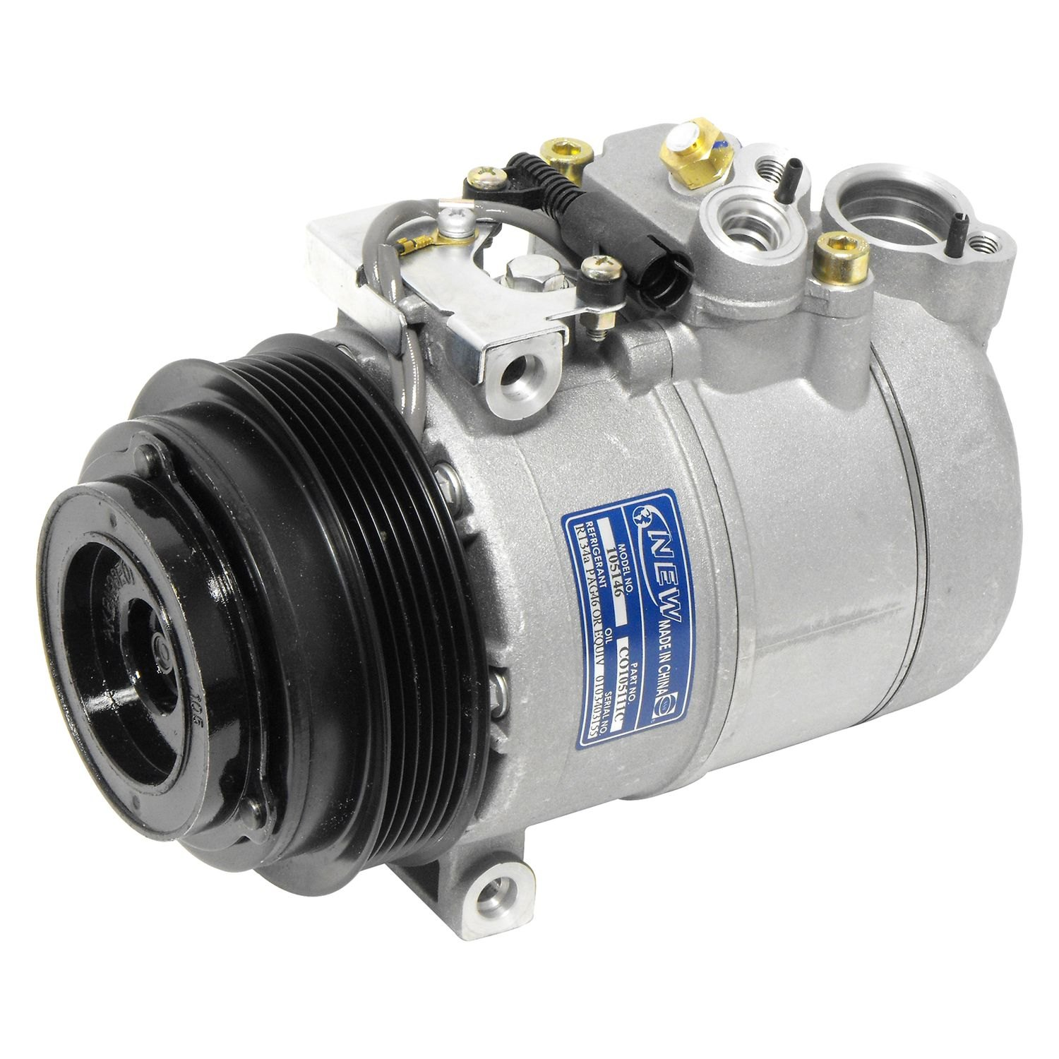 Universal Air Conditioner Co105111c A C Compressor Assembly