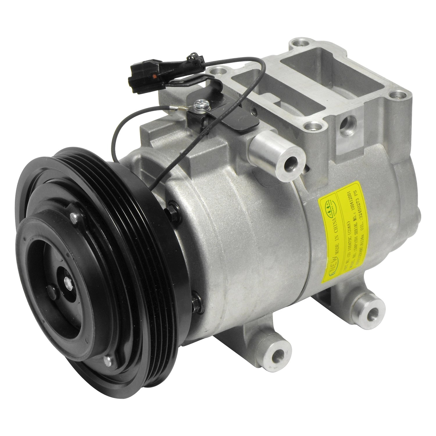 Universal Air Conditioner Co10547c A C Compressor Assembly