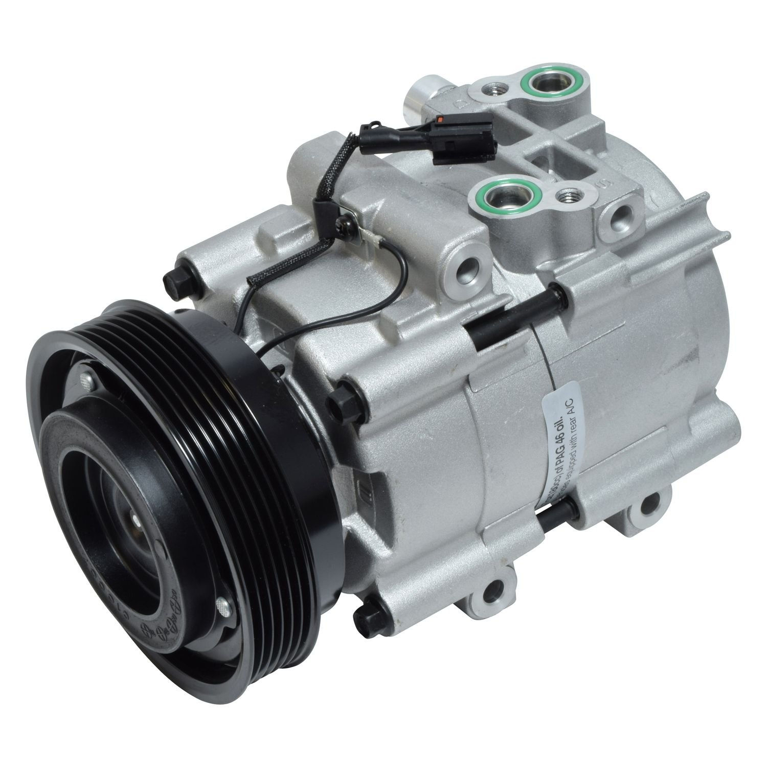 Universal Air Conditioner Co10549c A C Compressor Assembly