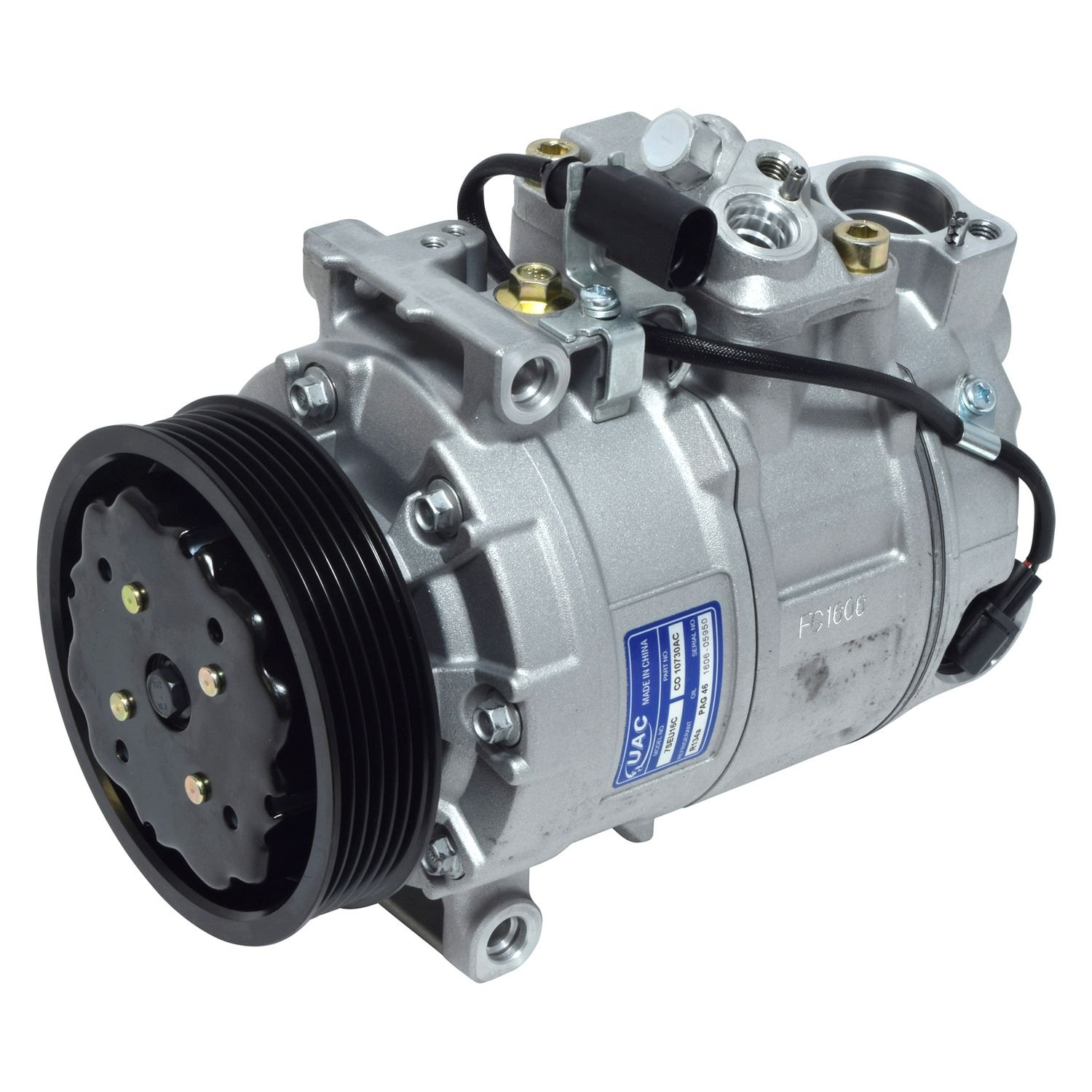 Universal Air Conditioner Co10730ac A C Compressor Assembly