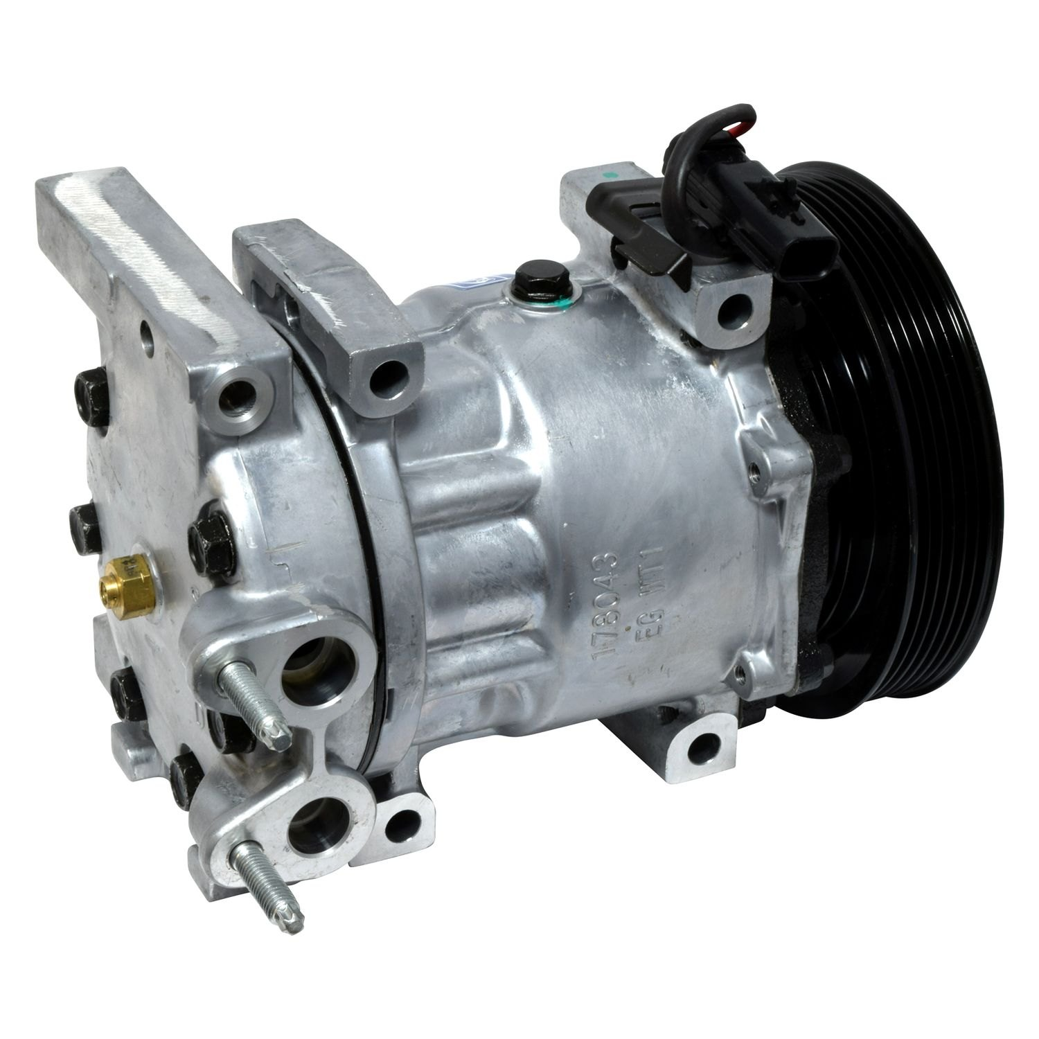 Universal Air Conditioner Co4336c A C Compressor Assembly