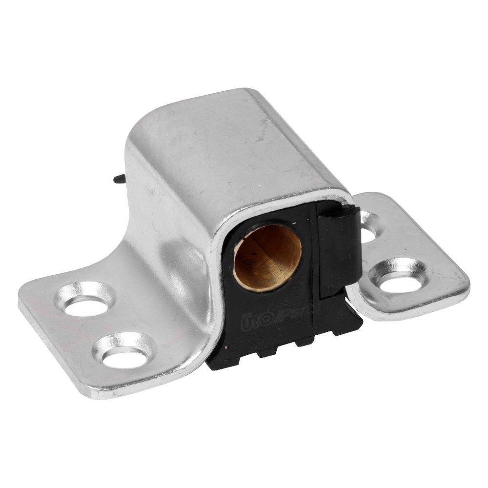 Uro parts 1237200204 front passenger side door lock striker for Door lock parts