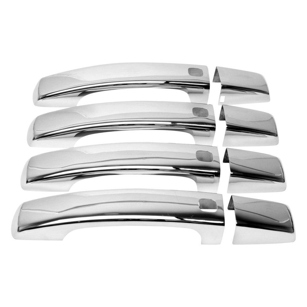 Uro parts cdhrrsp10handl chrome door handle covers for Door handle parts