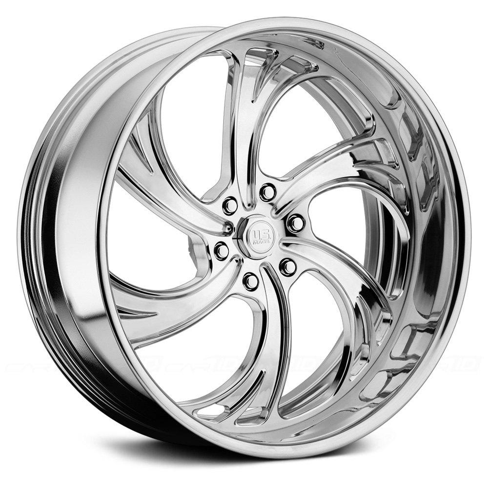 U S Mags 174 U450 Cheyenne 6 Wheels Custom Finish Rims