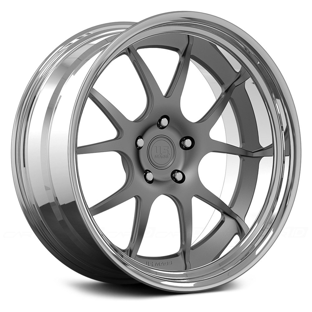 U S Mags U379 Pt 1 2pc Forged Bolted Wheels Custom Finish Rims