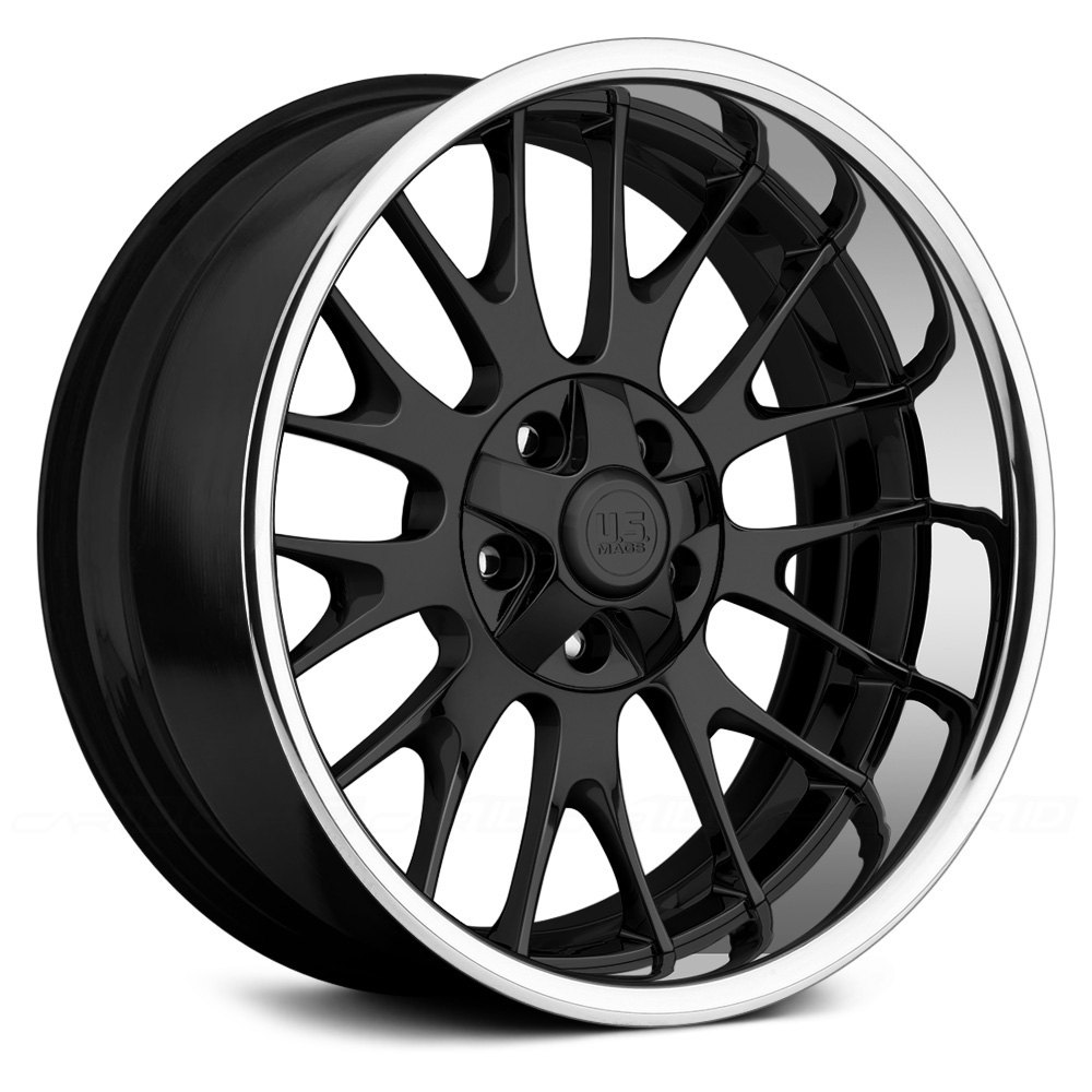US MAGSR TORINO U428 2PC Step Lip Forged Welded Wheels